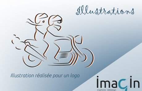 illustration saumur graphsime design