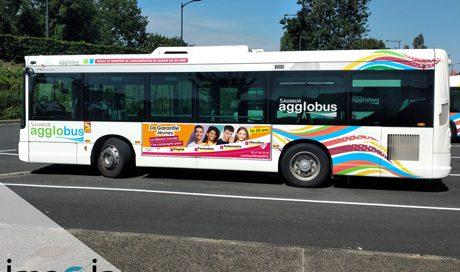 affiche bus saumur