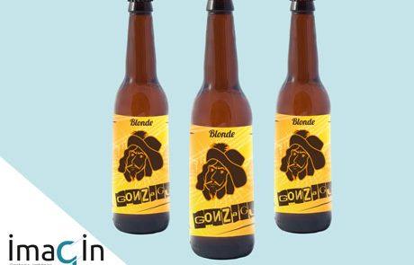 étiquette bière