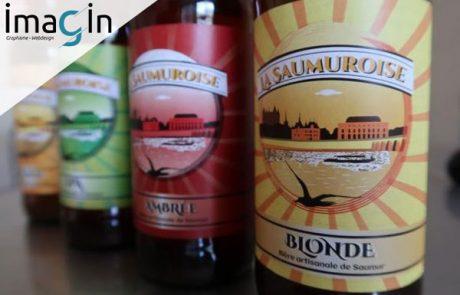 étiquettes bières vins